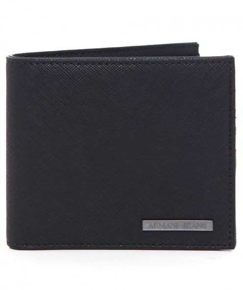 Armani Jeans Grained Billfold Wallet