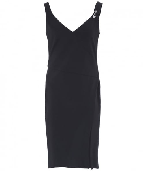 Versus Versace Plunge Pin Dress