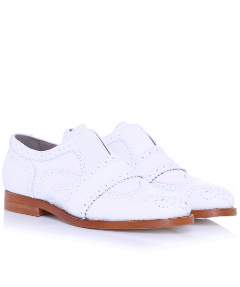 H by Hudson Maddie Leather Brogues
