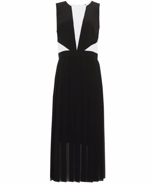 PS by Paul Smith Pleated Silk Dress
