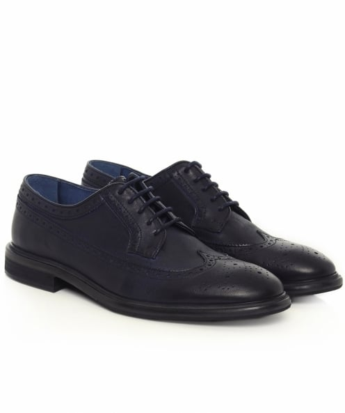 PS by Paul Smith Leather Malloy Derby Shoes