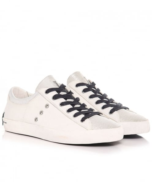 Crime London Low Top Trainers