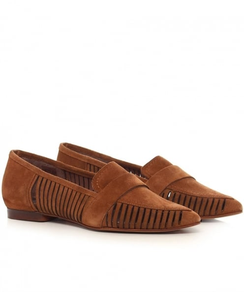 H by Hudson Clara Suede Loafers