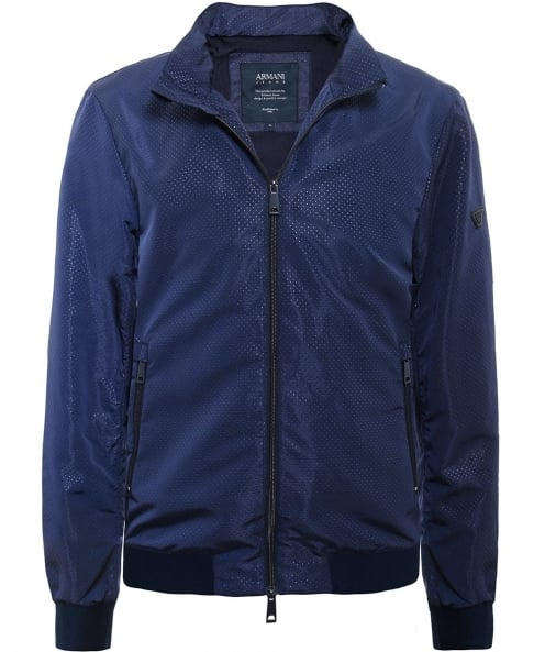 Armani Jeans Zip-Through Bomber Jacket