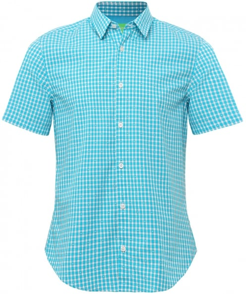 BOSS Regular Fit Short Sleeve C-Bustanio Shirt