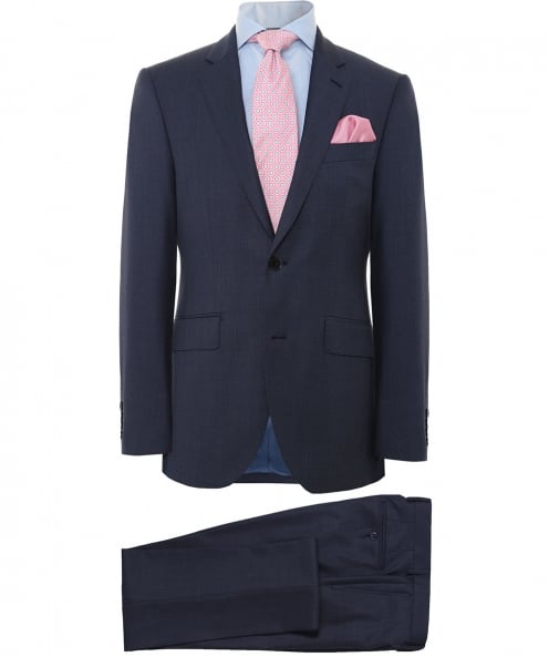 Hackett Sharkskin Wool Suit