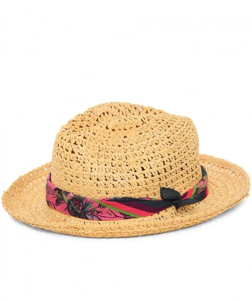 PS by Paul Smith Straw Trilby Hat