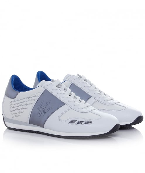 La Martina Leather Camoscio Trainers