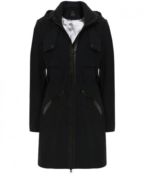 Creenstone Hooded Trench Coat