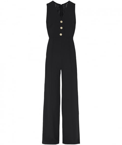 Alice and Olivia Tereza Flared Jumpsuit