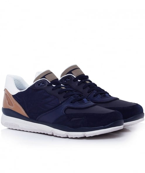 Geox Suede Sandford Trainers