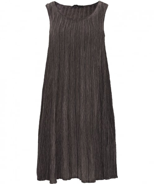 Grizas Ribbed Silk Dress