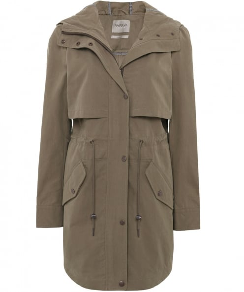 Parka London Freya Twill Parka
