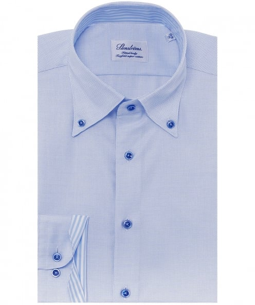 Stenstroms Fitted Weave Shirt