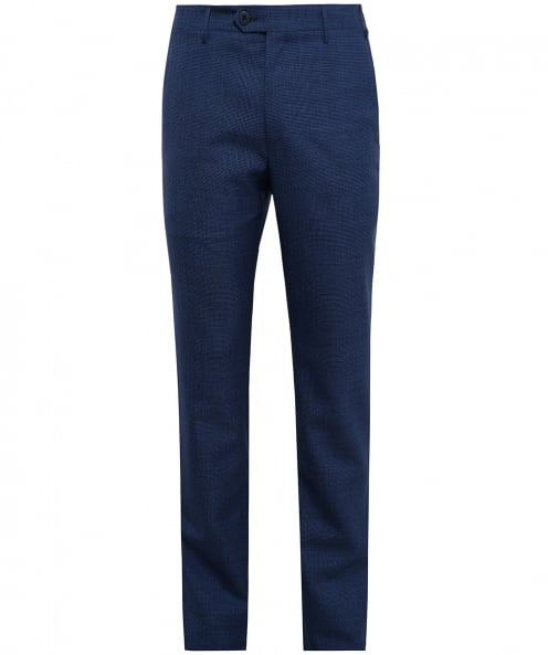 Corneliani Wool Houndstooth Trousers