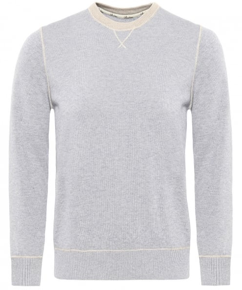Stenstroms Crew Neck Cashmere Blend Jumper
