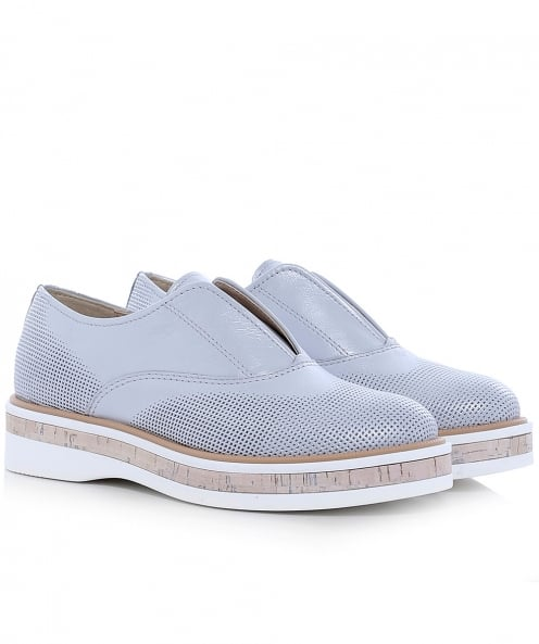 Peperosa Metallic Leather Lunar Brogues