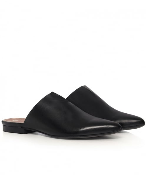 H by Hudson Amelie Leather Slip On Flats