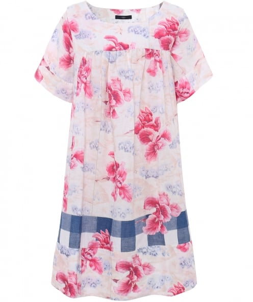 High Linen Elysium Flower Print Dress