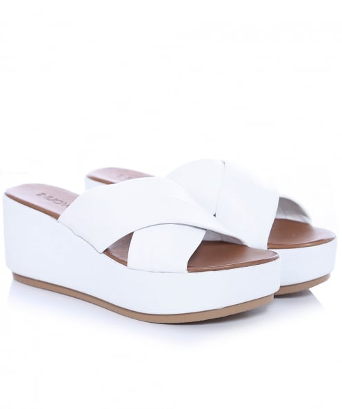 Inuovo Slider Wedge Sandals