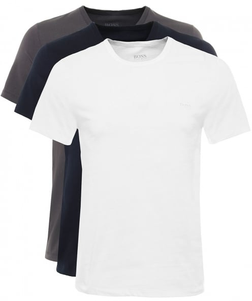 BOSS Three Pack of Regular Fit T-Shirts