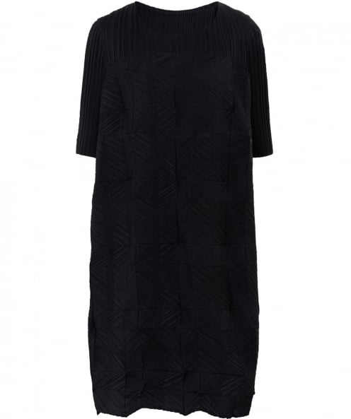 Thanny Pleated Casacca Dress
