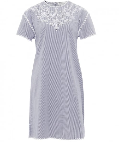 Rag and Bone Embroidered Sahara T-Shirt Dress