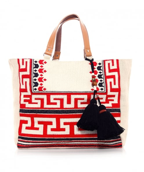 Star Mela Embroidered Myra Tote Bag