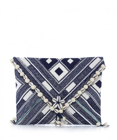 Star Mela Embroidered Kesi Clutch Bag