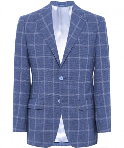 Jules B Houndstooth Check Wool Jacket