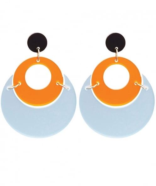 Toolally By Moonlight Circle Earrings