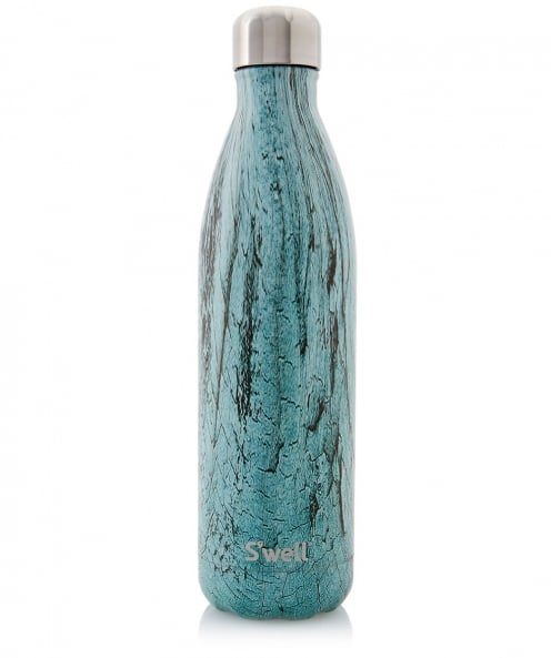 S'well 25oz Teal Wood Water Bottle