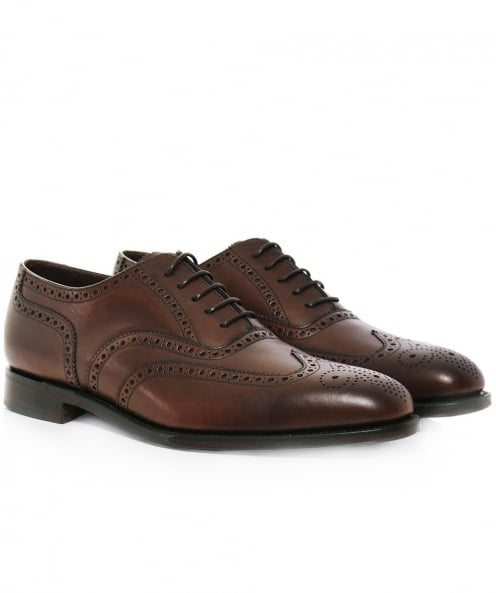 Loake Calf Leather Buckingham Brogues