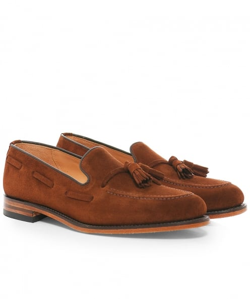 Loake Polo Suede Lincoln Loafers