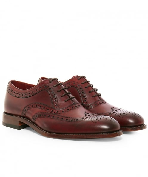 Loake Leather Fearnley Oxford Brogues