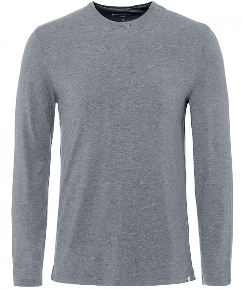 Derek Rose Long Sleeve Marlowe T-Shirt