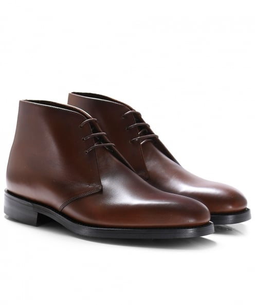 Loake Leather Pimlico Chukka Boots