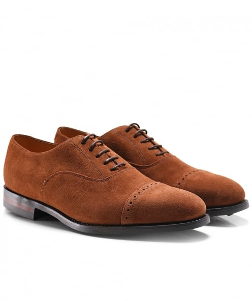 Loake Suede Cadogan Oxford Shoes