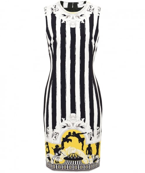 Versace Collection Humbug Striped Dress