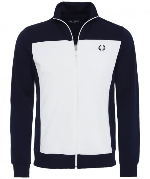 Fred Perry Embroidered Track Jacket