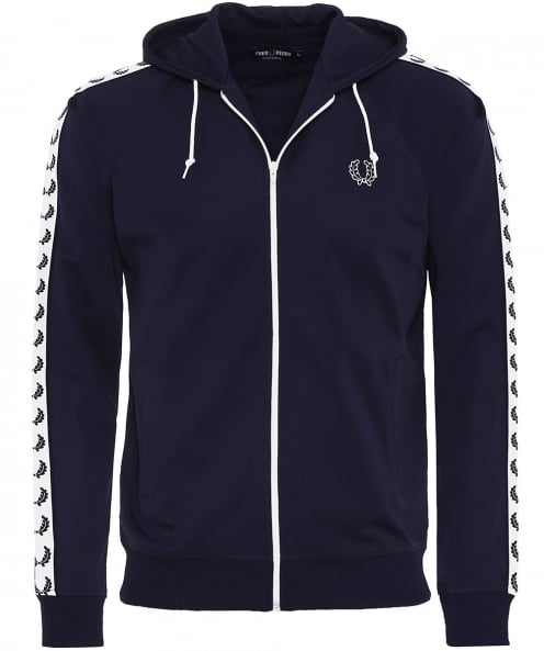 Fred Perry Hooded Tape Track Jacket