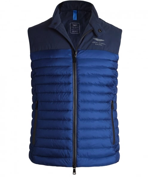 Hackett Quilted AMR Tech Gilet