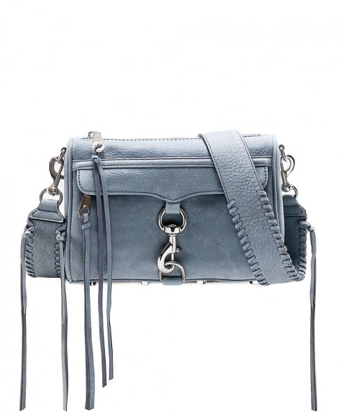 Rebecca Minkoff Nubuck Leather Mini Mac Bag
