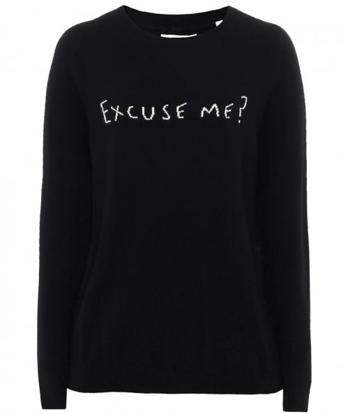 Chinti & Parker Cashmere Excuse Me Jumper