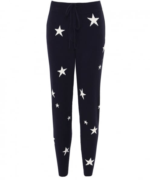 Chinti and Parker Cashmere Star Joggers
