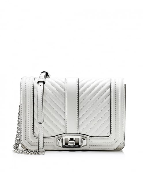 Rebecca Minkoff Leather Chevron Quilted Crossbody Bag