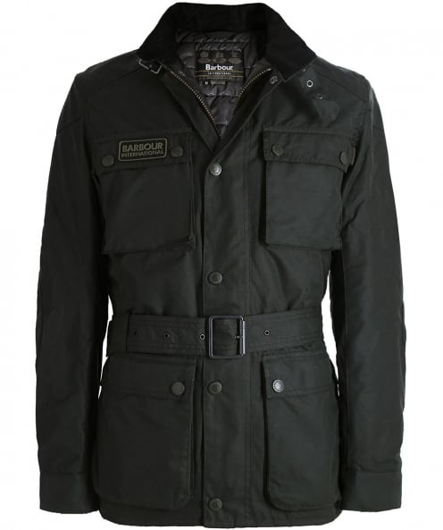 Barbour International Wax Blackwell Jacket