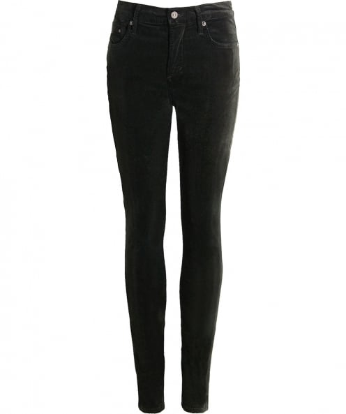 Citizens of Humanity Velveteen Rocket Skinny Jeans
