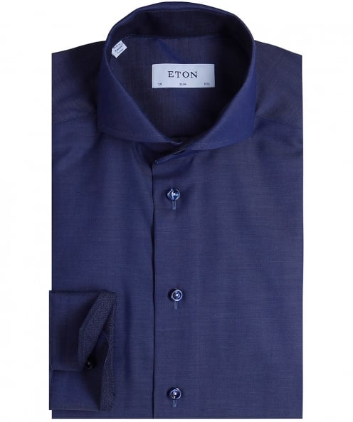 Eton Slim Fit Signature Twill Shirt