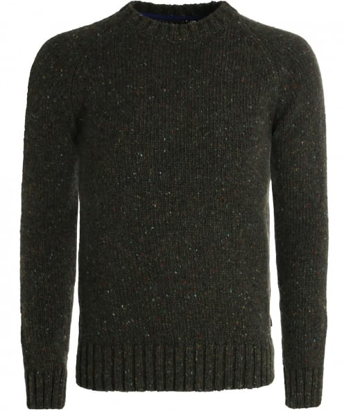 Barbour Wool Netherby Crew Neck Jumper